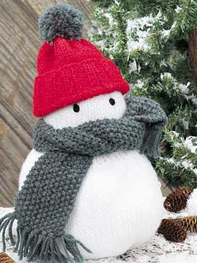 King Cole Snowman Knitting Pattern : Free Knitting Patterns - Free Knitting Patterns