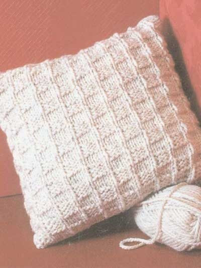 Knitting Pattern For Cushion Cover Chunky Wool : Free Knitting Patterns - Free Knitting Patterns